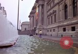 Image of people and buildings New York City USA, 1976, second 23 stock footage video 65675032060