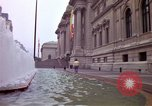 Image of people and buildings New York City USA, 1976, second 24 stock footage video 65675032060