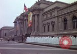 Image of people and buildings New York City USA, 1976, second 27 stock footage video 65675032060