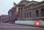 Image of people and buildings New York City USA, 1976, second 29 stock footage video 65675032060