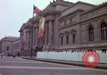 Image of people and buildings New York City USA, 1976, second 30 stock footage video 65675032060