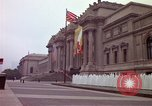 Image of people and buildings New York City USA, 1976, second 37 stock footage video 65675032060