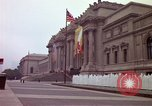Image of people and buildings New York City USA, 1976, second 38 stock footage video 65675032060
