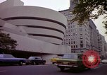 Image of people and buildings New York City USA, 1976, second 40 stock footage video 65675032060