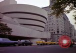 Image of people and buildings New York City USA, 1976, second 41 stock footage video 65675032060
