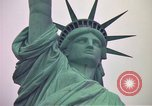 Image of Statue of Liberty wide and closeup views New York United States USA, 1976, second 46 stock footage video 65675032062