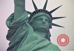 Image of Statue of Liberty wide and closeup views New York United States USA, 1976, second 47 stock footage video 65675032062