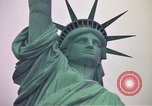 Image of Statue of Liberty wide and closeup views New York United States USA, 1976, second 48 stock footage video 65675032062