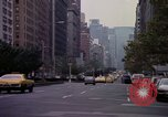 Image of Park Avenue New York United States USA, 1976, second 37 stock footage video 65675032063