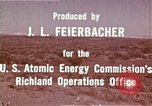 Image of Hanford Project Richland Washington USA, 1966, second 21 stock footage video 65675032078