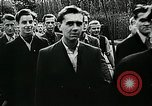 Image of German soldier recruitment and civilian clothing donations late World  Germany, 1945, second 25 stock footage video 65675032094