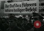 Image of German soldier recruitment and civilian clothing donations late World  Germany, 1945, second 32 stock footage video 65675032094