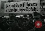 Image of German soldier recruitment and civilian clothing donations late World  Germany, 1945, second 33 stock footage video 65675032094