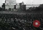 Image of German soldier recruitment and civilian clothing donations late World  Germany, 1945, second 36 stock footage video 65675032094