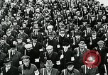 Image of German soldier recruitment and civilian clothing donations late World  Germany, 1945, second 37 stock footage video 65675032094