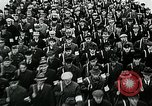 Image of German soldier recruitment and civilian clothing donations late World  Germany, 1945, second 39 stock footage video 65675032094