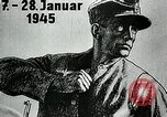 Image of German soldier recruitment and civilian clothing donations late World  Germany, 1945, second 40 stock footage video 65675032094