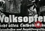 Image of German soldier recruitment and civilian clothing donations late World  Germany, 1945, second 43 stock footage video 65675032094