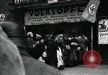 Image of German soldier recruitment and civilian clothing donations late World  Germany, 1945, second 45 stock footage video 65675032094
