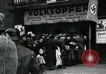 Image of German soldier recruitment and civilian clothing donations late World  Germany, 1945, second 46 stock footage video 65675032094