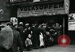 Image of German soldier recruitment and civilian clothing donations late World  Germany, 1945, second 47 stock footage video 65675032094