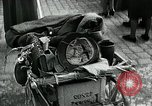 Image of German soldier recruitment and civilian clothing donations late World  Germany, 1945, second 50 stock footage video 65675032094