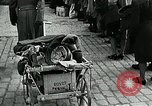 Image of German soldier recruitment and civilian clothing donations late World  Germany, 1945, second 51 stock footage video 65675032094