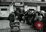 Image of German soldier recruitment and civilian clothing donations late World  Germany, 1945, second 53 stock footage video 65675032094