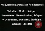Image of German Volkssturm soldiers conscripted late World War 2 Germany, 1945, second 30 stock footage video 65675032095