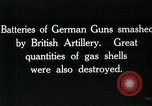 Image of Battle of Arras France, 1918, second 61 stock footage video 65675032111