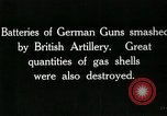 Image of Battle of Arras France, 1918, second 62 stock footage video 65675032111