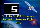 Image of Moscow Summit on Human Rights Moscow Russia Soviet Union, 1988, second 2 stock footage video 65675032117