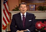 Image of President Ronald Reagan sends holiday greetings to people of Soviet Union Washington DC  USA, 1988, second 27 stock footage video 65675032118