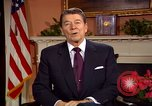 Image of President Ronald Reagan sends holiday greetings to people of Soviet Union Washington DC  USA, 1988, second 35 stock footage video 65675032118