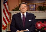 Image of President Ronald Reagan sends holiday greetings to people of Soviet Union Washington DC  USA, 1988, second 39 stock footage video 65675032118