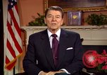 Image of President Ronald Reagan sends holiday greetings to people of Soviet Union Washington DC  USA, 1988, second 51 stock footage video 65675032118
