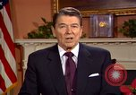 Image of President Ronald Reagan sends holiday greetings to people of Soviet Union Washington DC  USA, 1988, second 58 stock footage video 65675032118