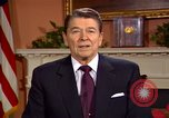Image of President Ronald Reagan sends holiday greetings to people of Soviet Union Washington DC  USA, 1988, second 59 stock footage video 65675032118