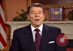 Image of President Ronald Reagan sends holiday greetings to people of Soviet Union Washington DC  USA, 1988, second 60 stock footage video 65675032118