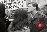 Image of antiwar protests United States USA, 1967, second 51 stock footage video 65675032122