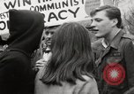 Image of antiwar protests United States USA, 1967, second 52 stock footage video 65675032122