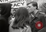 Image of antiwar protests United States USA, 1967, second 53 stock footage video 65675032122