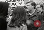 Image of antiwar protests United States USA, 1967, second 55 stock footage video 65675032122