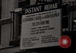 Image of housing rehabilitation of New York City tenements  New York City USA, 1967, second 28 stock footage video 65675032124