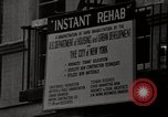 Image of housing rehabilitation of New York City tenements  New York City USA, 1967, second 29 stock footage video 65675032124