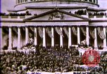 Image of America enters World War 1. Conscripts are inducted into Army. Europe, 1917, second 55 stock footage video 65675032132