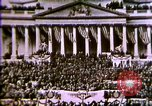 Image of America enters World War 1. Conscripts are inducted into Army. Europe, 1917, second 56 stock footage video 65675032132