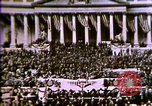 Image of America enters World War 1. Conscripts are inducted into Army. Europe, 1917, second 57 stock footage video 65675032132