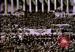 Image of America enters World War 1. Conscripts are inducted into Army. Europe, 1917, second 60 stock footage video 65675032132