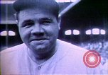 Image of Jack Dempsey; Babe Ruth; Charles Lindbergh; Herbert Hoover; Al Smith;  United States USA, 1927, second 19 stock footage video 65675032139